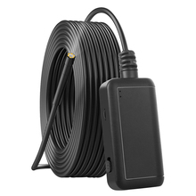 Led Tool Waterproof Car Wireless Borescope Semi Rigid Auto Inspection Camera Long View Range Repair HD WIFI Endoscope