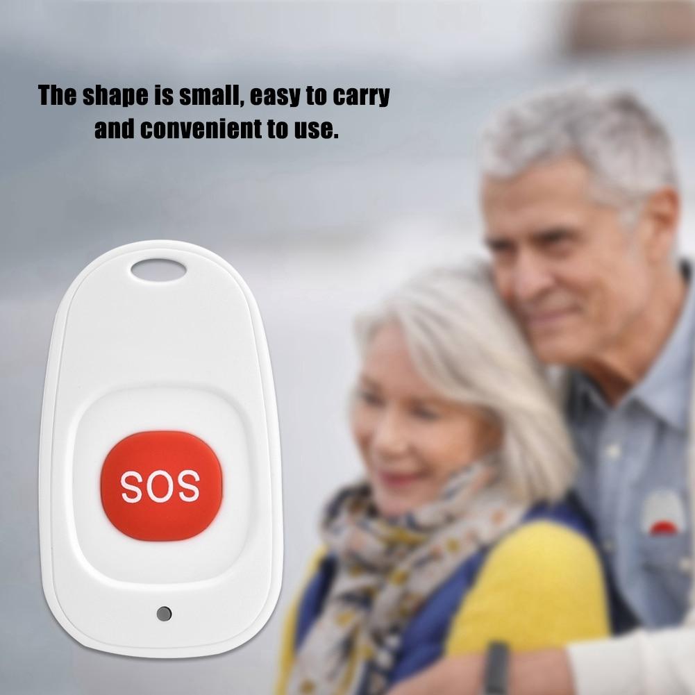 Wireless SOS Emergency Call Button 433Mhz 1527 codeWaterproof Emergency Help Alarm Switch Sensor for Home Elderly Patient