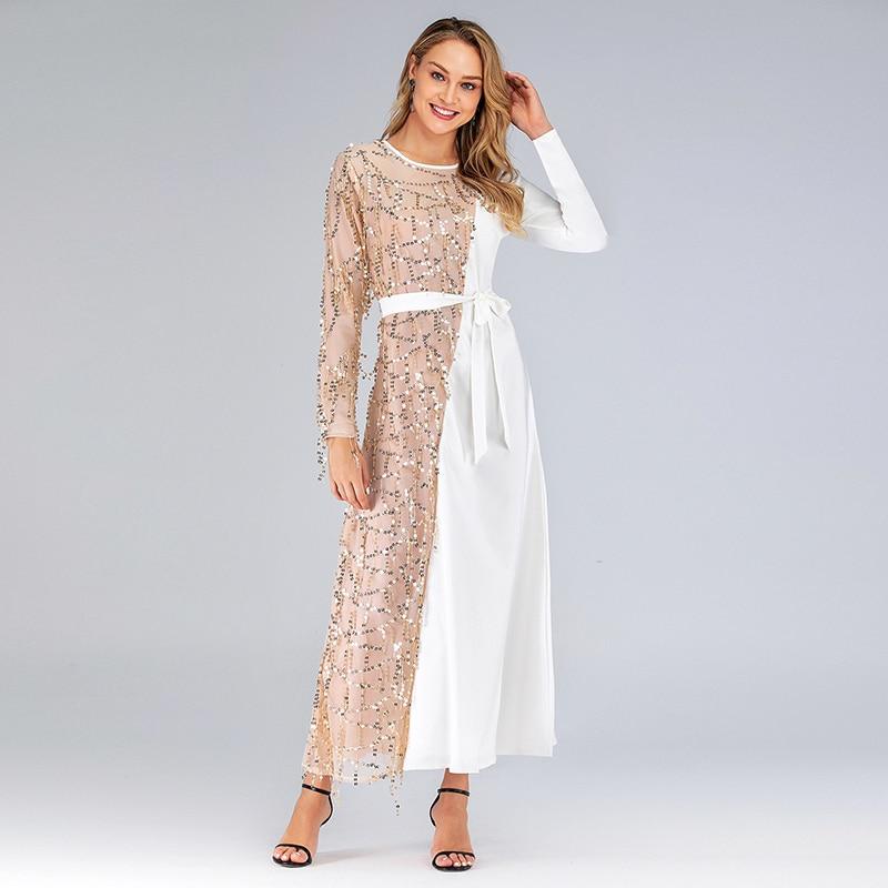 Vestidos Abaya Turkey Long Maxi Muslim Dress Kaftan Pakistani Hijab Islamic Dresses Tesettur Elbise Robe Musulmane Longue Caftan