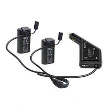 3 в 1 Автомобильное зарядное устройство для DJI Mavic мини батареи и пульт дистанционного управления