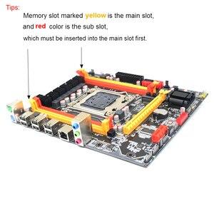 Image 5 - Nuova scheda madre Kllisre X79 chip SATA3 PCI E NVME M.2 SSD supporto memoria REG ECC