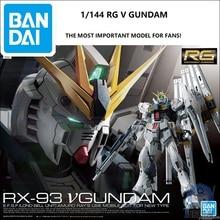 цена на Gundam Model RG 1/144 RX 93 V NU SAZABI GUNDAM Amuro Ray  CCA Armor Unchained Mobile Suit Kids Toys