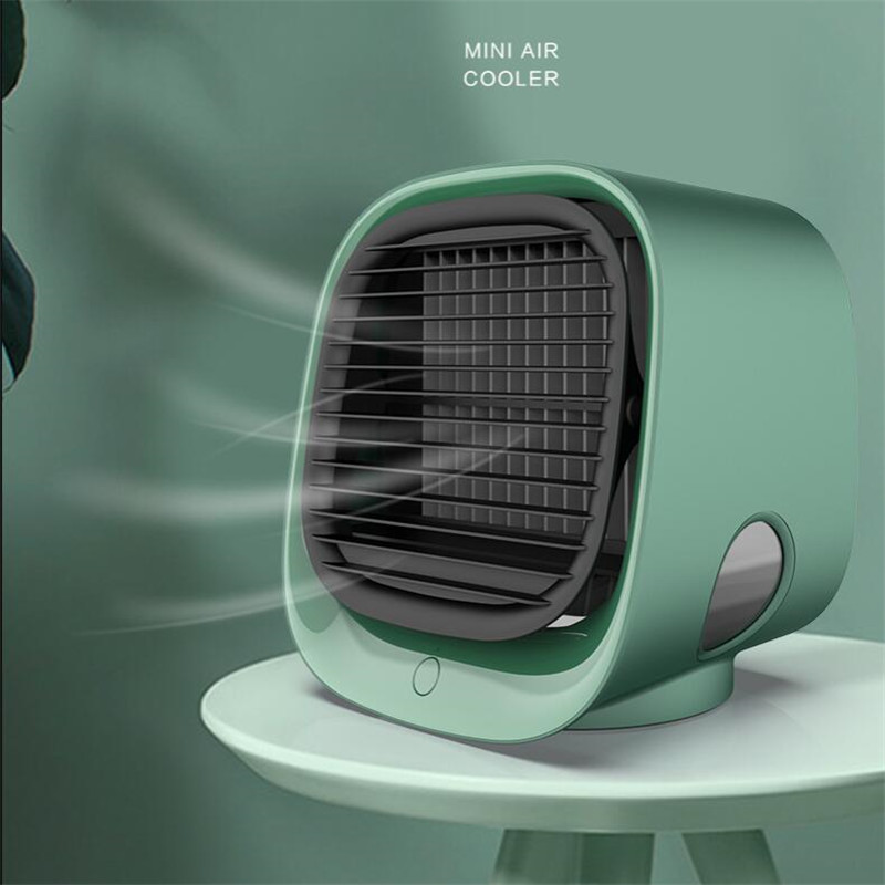 Mini Portable Fans Air Conditioner Multi-function Humidifier Purifier USB Desktop Air Cooler Fan with Water Tank Home 5V