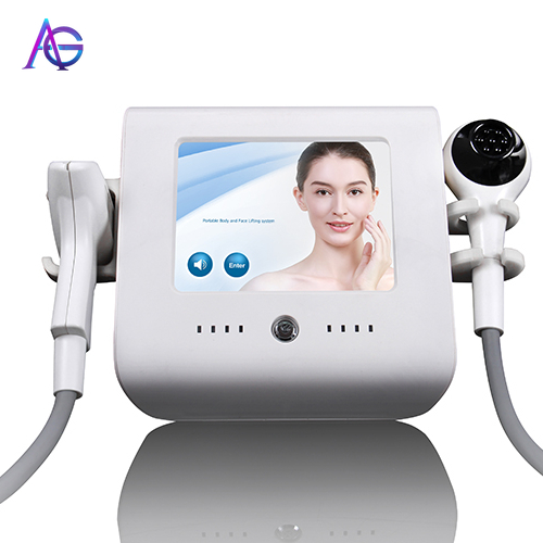 Fractional 2 In 1 Beauty Apparatus For Skin Tightening Acne Removal And Wrinkles Smooth
