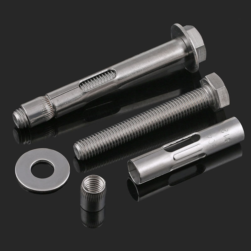 Stainless Steel Expansion Screw Shield Anchor With Hex Bolt for Bracket Connecting Fastener Air Conditioning Wall Fixing Screw Color : M12X150 1pcs