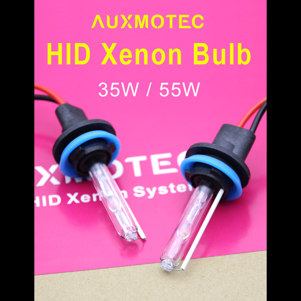 2Pcs 55W AC HID Xenon H7 Bulbs H1 H3 H11 HB3 9005 HB4 9006 9012 D2H Car Headlight 3000K 4300K 5000K 6000K 8000K 10000K
