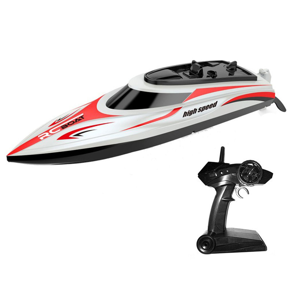 30km/h High Speed RC Boat Water Cooled Remote Control Speedboat Wireless Waterproof Children's Electric Toy Ship Model Gift