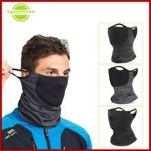 Теплая флисовая маска волшебный платок Сменный фильтр зимняя