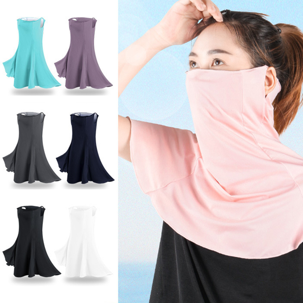 In Stock Outdoor Cycling Sunscreen FaceCover Dust Face Neck Shoulder FaceCover Mascarillas Mascara Mondkapje Camping Maska