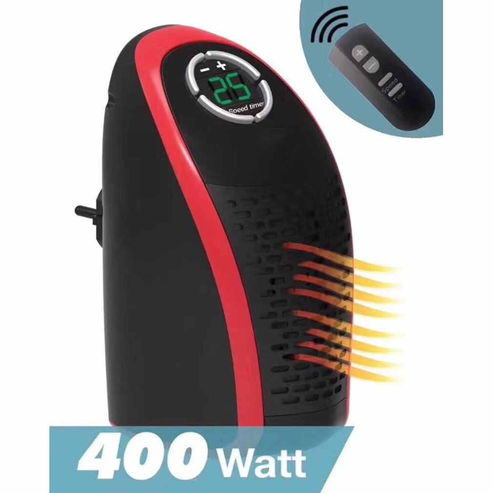 400W radiateur électrique Mini ventilateur chauffage ventilateur bureau ménage prise murale chauffage poêle radiateur rapide pratique chauffe Machine