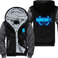 Dropshipping Rainbow Six Siege Winter Coat Game Cosplay For