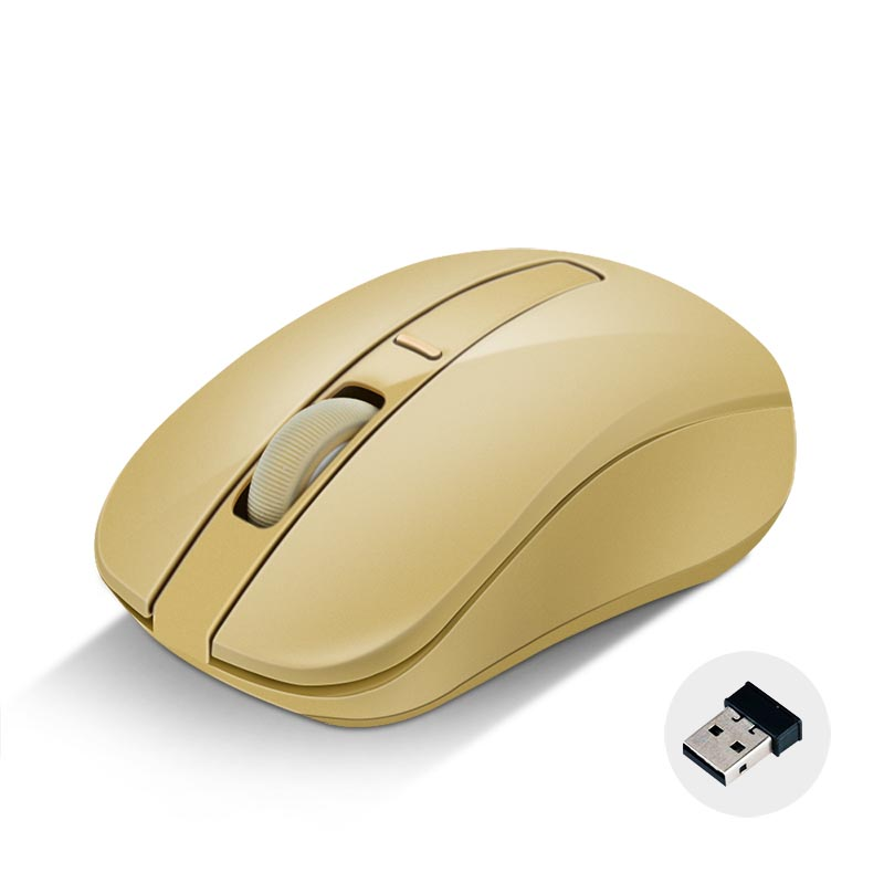 Mobile-Mouse Computer Optical-Mice Laptop Wireless Usb-Receiver Adjustable 2 with DPI