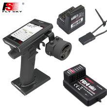 FS-NB4,Flysky FS-NB4 2.4G 4CH Noble Radio Transmitter with FGR4 & FGR4S Receiver HVGA 3.5 inch TFT Color for RC Car/Boat