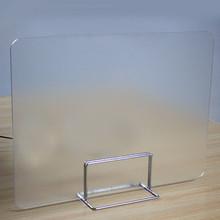Szkolne biurko ścianka działowa ekrany rozdzielające prywatność Panel separatora akrylowego do liczników stołowych ekrany ochronne izolowane tanie tanio Other Konstrukcja ramy Wielofunkcyjny Desk Privacy Divider Office Divider Partition Desk Separator Panel Acrylic Nowoczesne