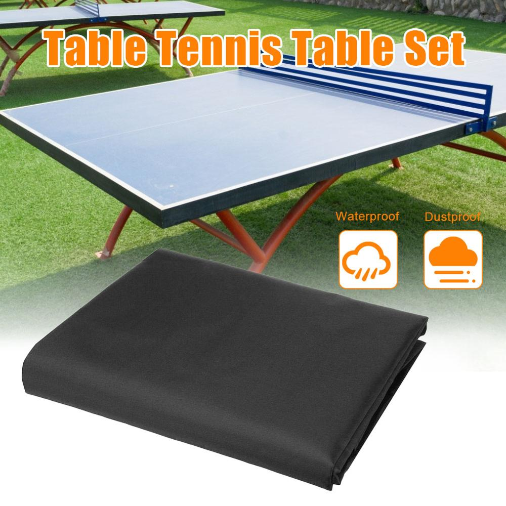 Multifunctional Table Tennis Table Cover Anti-ultraviolet Waterproof Moisture-proof Table Dust Cover 280*150*5 Cm