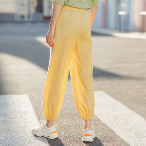 Image 3 - INMAN 2020 여름 새로운 도착 패션 레저 드레이프 벨트 발목 길이 엉덩이 팬츠와 슬림