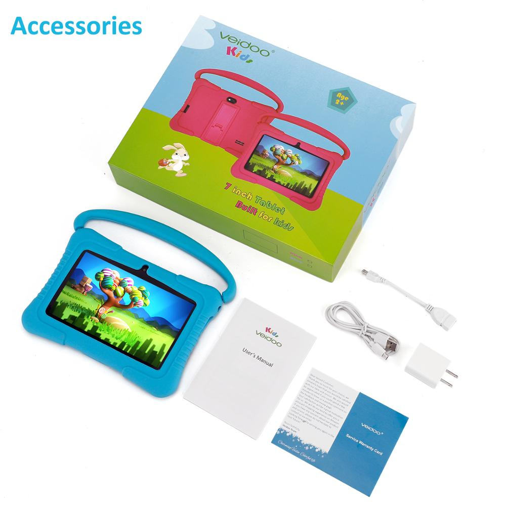 Kids Gift Kids Tablet WIFI 1G RAM 16GB ROM Android8.1 Education Game Tablet Pc