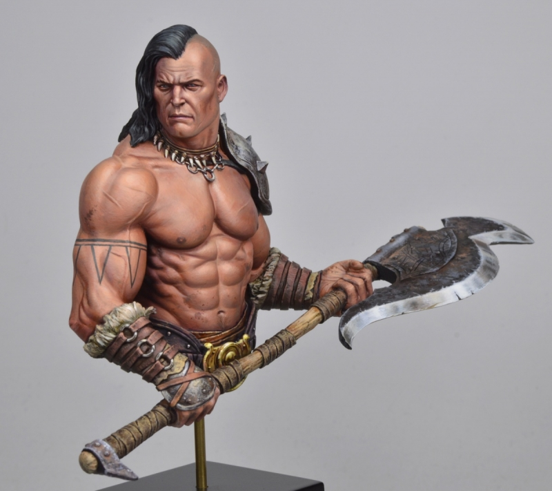 1/10 Resin Bust Model Kit  Unpainted 459D