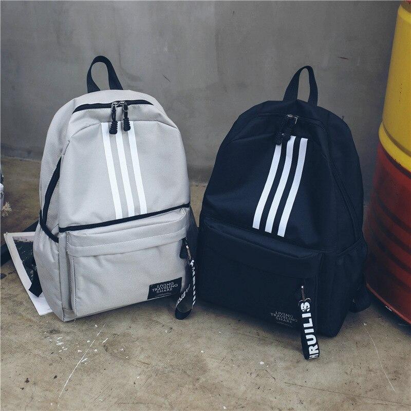 Fashion Women Backpack Travel Bookbag School Bag For Girls Boys Teenager School Backpacks Men Canvas Backpack WBS623