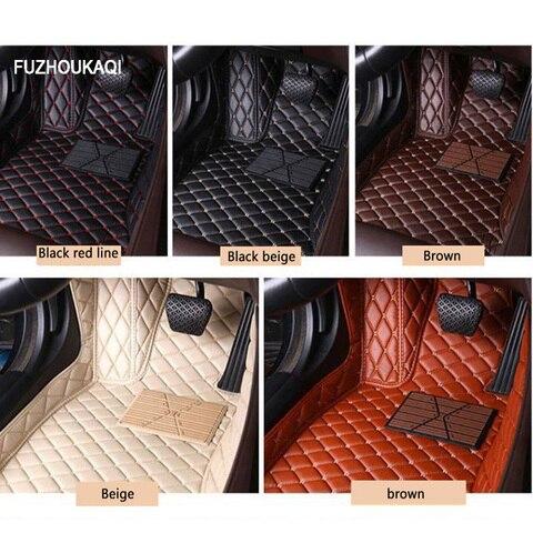 tapetes do carro de couro para hyundai