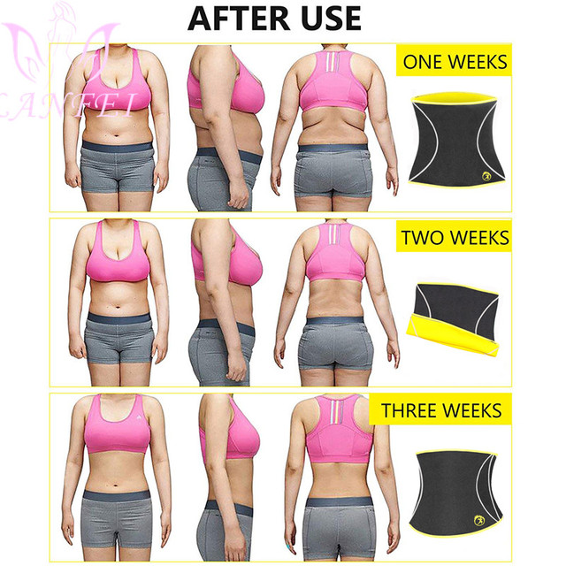 LANFEI Women Hot Neoprene Waist Trainer Belt Body Shaper Slimming Corset Suana Sweat Waist Trimmer Modeling Girdles for Fat Burn 4