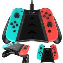 Mando de juego 2 en 1 con agarre de carga y funda para Nintendo Switch