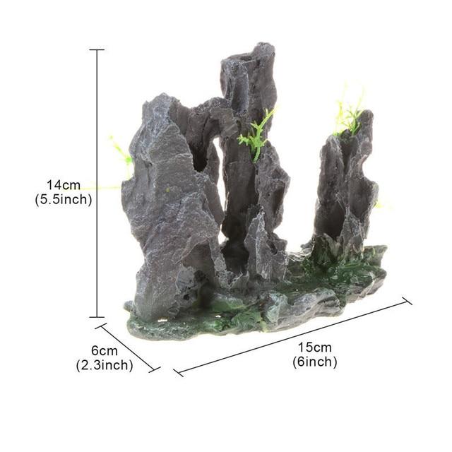 Rock Aquarium Cave Stone Landscaping  3