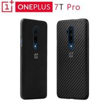מקורי OnePlus 7T פרו פגוש מקרה Karbon בנוי אחרון מרקם מגן הגנה ללא פשרות מושלמת
