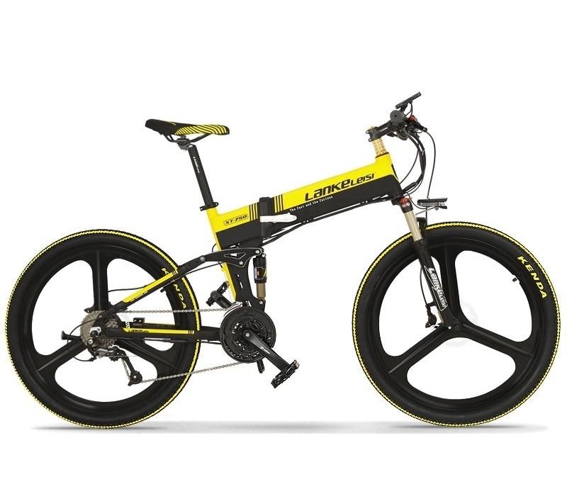 MTB Lankeleisi XT750-Z SHlMANO 27-Speed Electric 26 INCH  Mountain Bike 400W 10AH Panasoni'c Battery for men 1