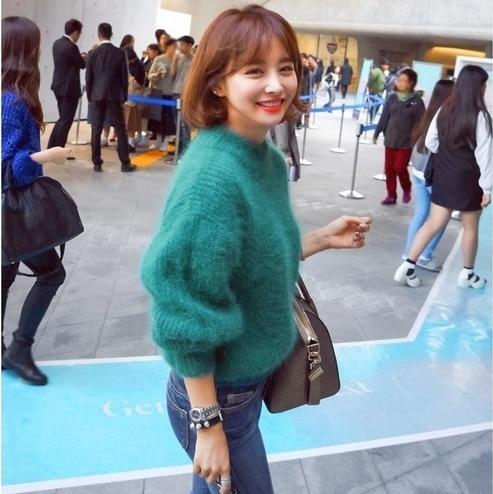 Grün Vintage Mujer Dicken 7
