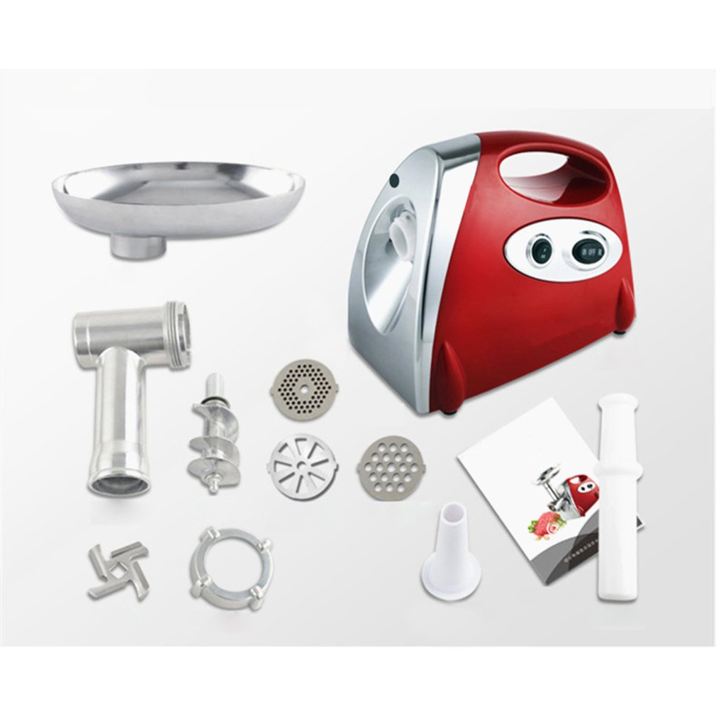 Electric Meat Grinders 2800W Stainless Steel Powerful Electric Grinder Sausage Stuffer Meat Mincer Slicer For Kitchen