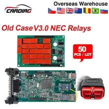 50PCS/Lot CDP TCS CDP Pro Plus V3.0 Green board Bluetooth 2015.3 with keygen for CAR/TRUCK obd2 Diagnostic Tool Auto code reader