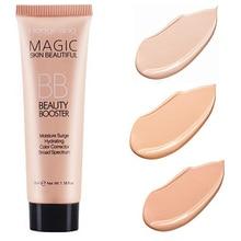 BB Cream Full Cover Face Base Liquid Foundation Makeup Waterproof Long Lasting Facial Concealer Whitening Cream Korean Make Up