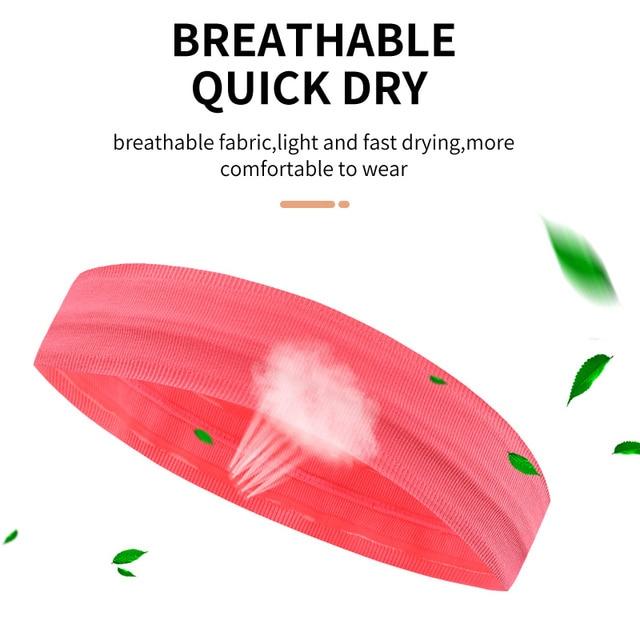 Sports running headscarf headband sweat absorption belt forehead antiperspirant belt harness hair belt fitness hair guide sweat 1
