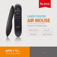 Laserlight Apresentador Caneta Ponteiro Air Mouse 2.4G Sem Fio RF Controle Remoto Para PPT