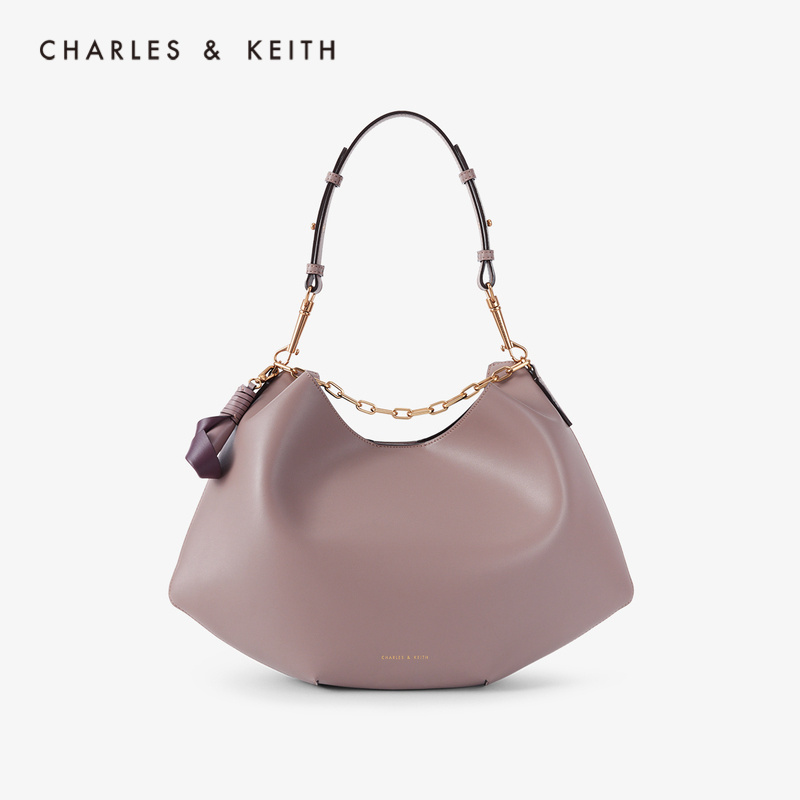 CHARLES&KEITH New Arrival For Spring Summer 2020 CK2-40671077Women Minimalist High-capacity Portable Shoulder Bag