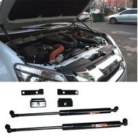 exterior auto accessories Front Hood Bonnet hold Gas Spring Struts 2pcs Lift Support Shock for isuzu d max DMAX MUX 2012 19 CAR