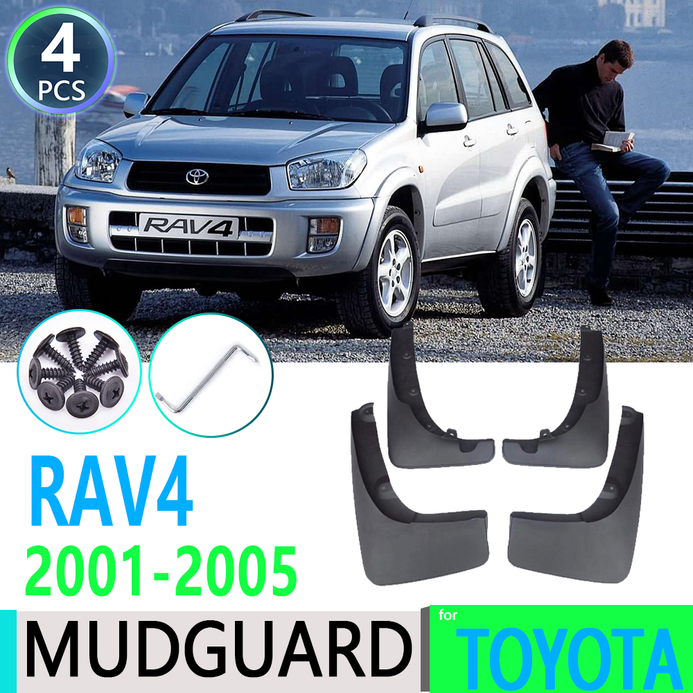 for Toyota RAV4 <font><b>RAV</b></font> <font><b>4</b></font> XA20 2001~2005 2002 2003 <font><b>2004</b></font> 2nd Gen Car Fender Mudguard Mud Flaps Guard Splash Flap Car Accessories image