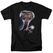 E.T. T-Shirt unisexe avec PORTRAIT de film Extra-terrestre pour homme, unisexe, de toutes tailles, avec dessin animé, à la mode, livraison gratuite