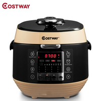 Costway High Quality 12 in 1 Multi use Programmable Electric Pressure Cooker Non stick Pot Pressure Adjustment EP23973