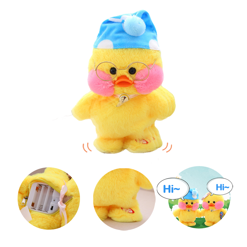 Duck electric plush toys that can run and call dolls to talk…