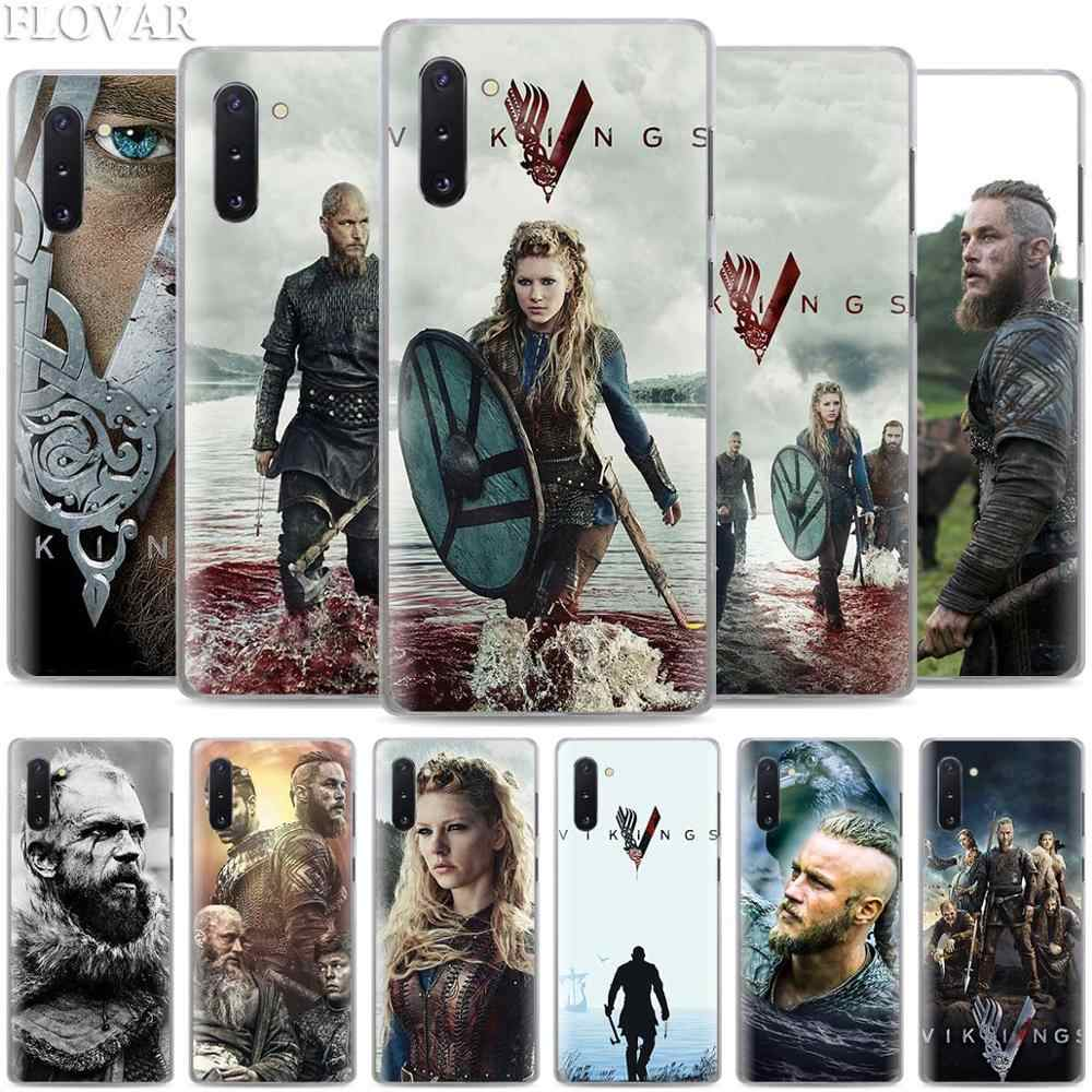 Vikings Serie 4 Phone Cases para Samsung Galaxy Note 10 S10 Plus 5G S10e A30 A40 A50 A60 A70 m40 Coque Capa Dura