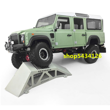 Rc Car Metal Obstacle Bridge Model For 1/10 Rc Car Traxxass Trx4 4WD TF2 Axial Scx10 ii 90046 LC70 Wraith Yeti G500 G63 Buggy 1 10 blue alloy magnetic stealth invisible body post mount rc car boat buggy 4pcs set for axial scx10 4wd electric rc car