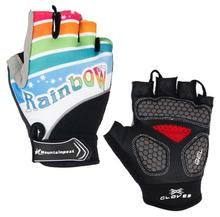Cycling Anti-slip Anti-sweat Men Half Finger Gloves Breathable Anti-shock Sports MTB Bike Bicycle Glove Mountainpeak