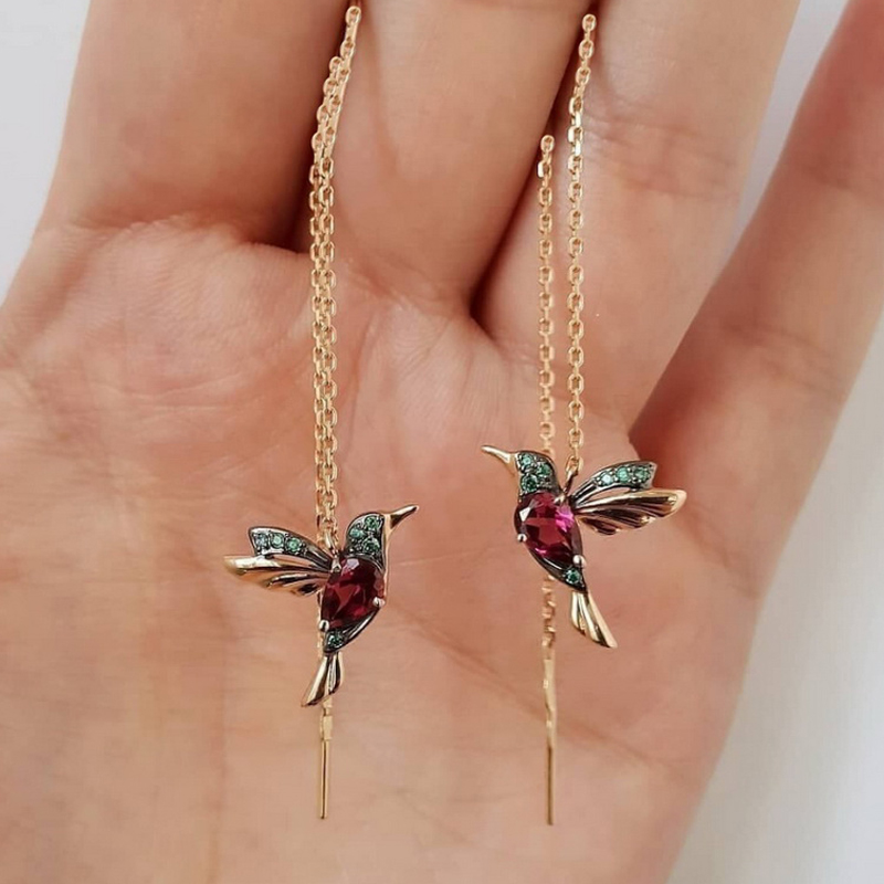 Red Hummingbird