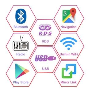 "Image 4 - AUTOTOP 8 ""2 Din Android 9.0 araba radyo Dacia/Sandero/silgi/Renault/Captur/lada/Xray 2/Logan 2 ile 2G RAM 16G ROM 4G Wifi"