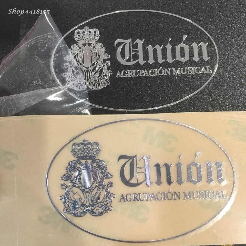 Etiqueta personalizada do logotipo do metal da etiqueta para o carro electroformed letras decalque etiqueta diy