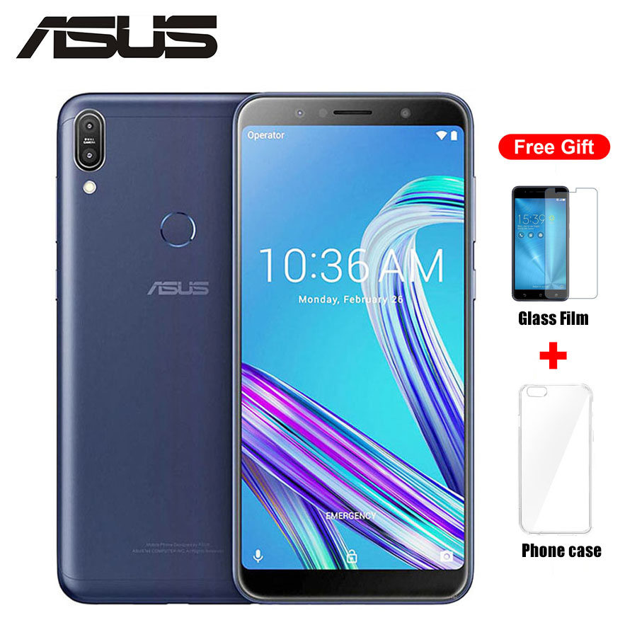 "Global Version ASUS ZenFone Max PRO M1 ZB602KL LTE Dual SIM Mobile Phone 6.0""2160x1080p 4GB 64GB Octa Core 5000mAh Android Phone"