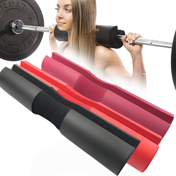 Foam Barbell Pad Cover Squat Pad For Gym Weight Lifting Cushioned Shoulder Back Support Neck