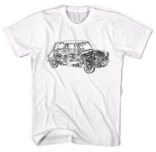 Mini Cooper Schematic Classic Cars Unisex T Shirt All Sizes Classic Quality High Top Free Shipping T Shirt Trump Sweat Sporter T zildjian classic sweat shirt m